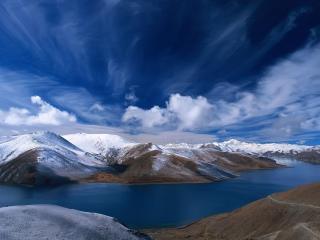 обои Река в горах фото