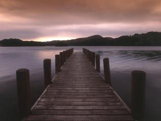 обои Coniston Water, Lake District, Cumbria, England фото