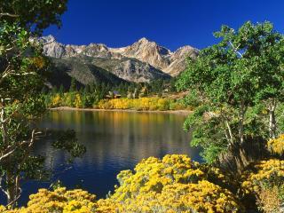 обои Twin Lakes фото