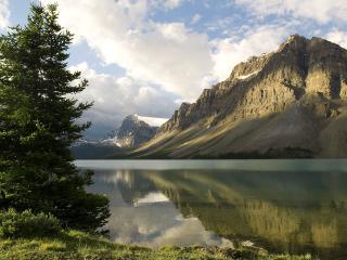 обои Bow Lake фото