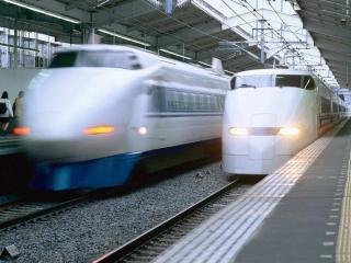обои Скоростные поезда фото