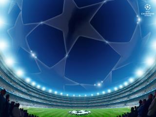 обои Uefa. лига чемпион фото