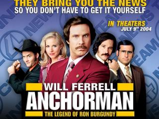 обои Anchorman: The Legend of Ron Burgundy фото