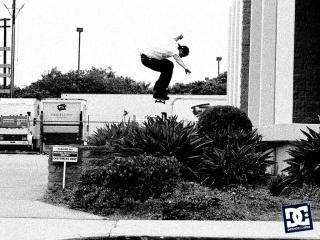обои Скейтер в прыжке фото