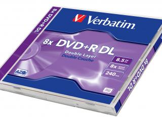 обои Verbatim DVD plusR DL фото
