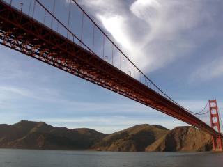 обои Golden Gate bridge фото