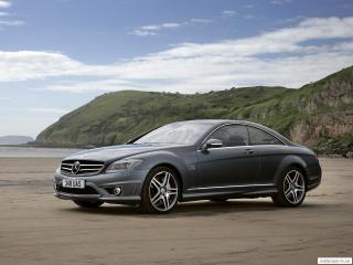 обои Mercedes купе V12 фото