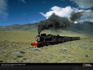 обои Plains train фото
