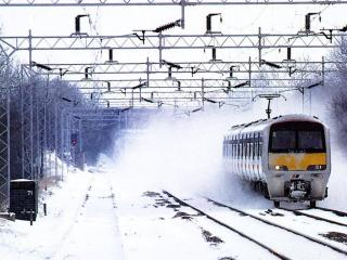 обои Snow Train фото