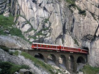 обои Swiss Mountain Railway фото