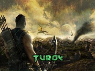обои Turok - с арбалетом фото