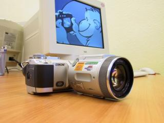 обои Cyber-shot DSC-F717 фото