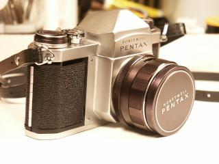 обои Старый Pentax фото