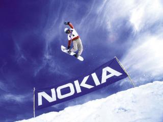 обои Сноуборд-спортсмен (Nokia) фото