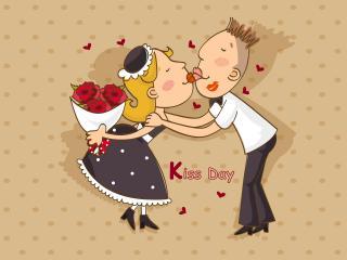 обои Kiss Day фото