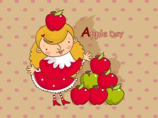 обои Apple Day фото