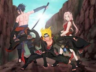 обои Naruto - компания фото