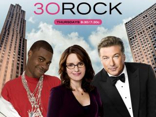 обои 30 Rock (Comedy TV Show), 2006, Tina Fey, Alec Baldwin фото