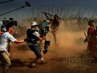 обои Alexander, 2004, Making the Movi фото