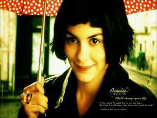 обои Amelie, 2001, Audrey Tautou, Mathieu Kassovitz фото