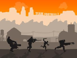 обои Team Fortress фото