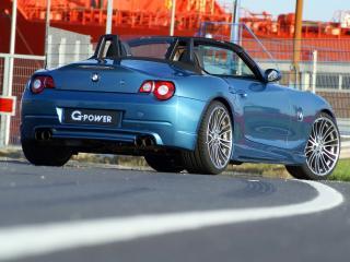 обои BMW - Z4 G-Power - rear фото