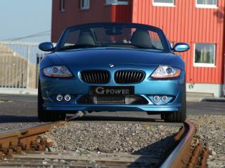 обои BMW - Z4 G-Power - front фото