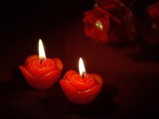 свечи сердца горящие бесплатно
