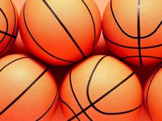 обои Баскетбольные мячи фото