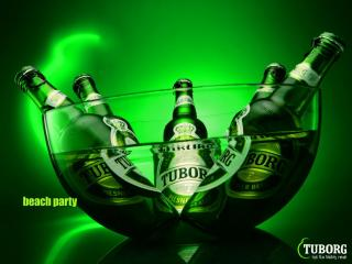 обои Tuborg - Beach Party фото