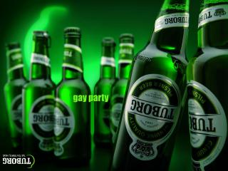 обои Tuborg - Gay Party фото