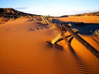 обои Бесплодная пустыня фото