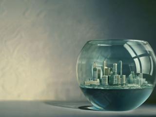 обои Город в неволе фото