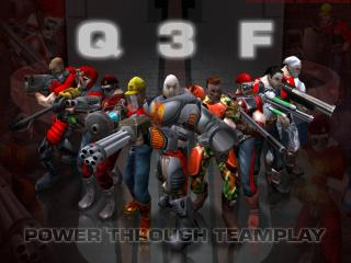 обои Q 3 F. POWER THROUGH TEAMPLAY фото