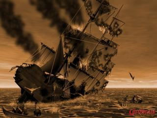 обои Cutthroats. terror on the high seas фото