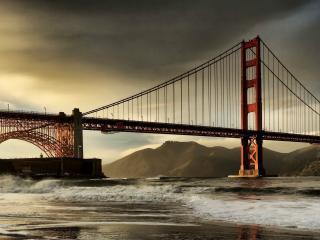 обои Огромный мост фото
