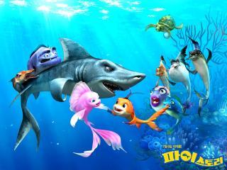 обои Наживка для акулы: Не очень страшное кино фото