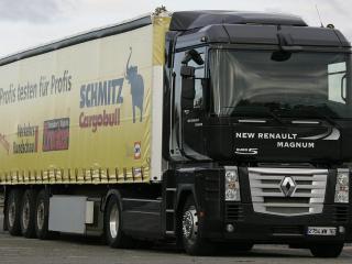 обои Renault Magnum 2005 фото
