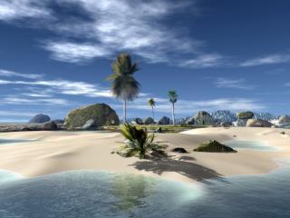 обои Paradise beach фото