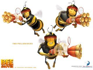 обои Полицейские-пчёлы фото