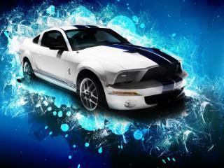 обои Mustang GT 500 фото