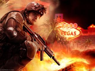 обои Солдат Rainbow Six Vegas фото