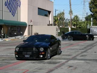 обои Knight Rider Shelby Mustang 500 GTR фото