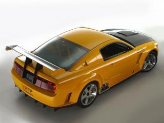 обои Ford Mustang GTR фото