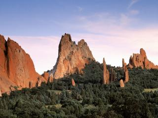 обои Garden of the Gods, Colorado фото