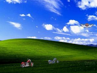 обои Windows XP Мотоциклы фото
