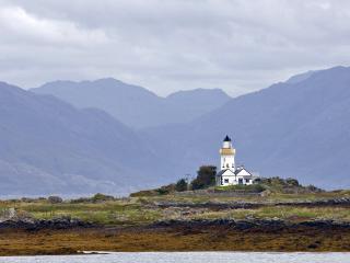 обои Шотландия, маяк на острове Ская фото