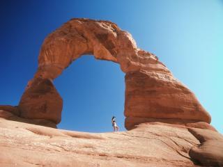 обои Ворота в каньоне фото