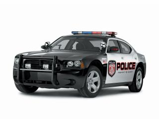 обои Dodge Charger Police Car фото