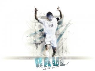 обои Raul (Real Madrid) фото